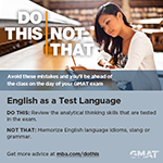 Do This, Not That: English