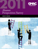 2011 Alumni Perspectives Survey Report Cover