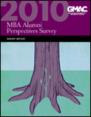 Alumni Perspectives Survey Report Cover 2010