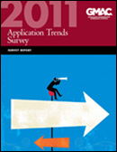 2011 Application Trends Survey Report Cover