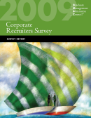 2009 Corporate Recruiters Survey