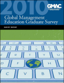2010 Global Management Education Graduate Survey Report cover