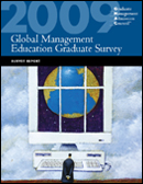2009 Global Management Education Graduate Survey Report cover