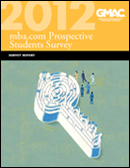 mba.com Prospective Students Survey 2012 Survey Report Cover