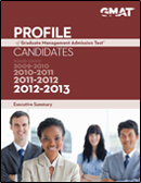 2013 GMAT Profile Executive Summary Cover