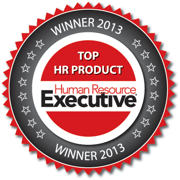 HR Executive winner seal for top HR product