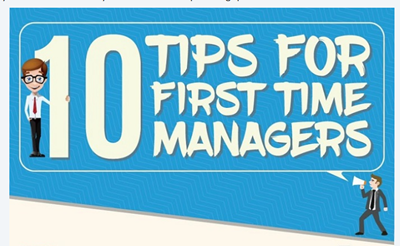 Ten Tips for New Managers