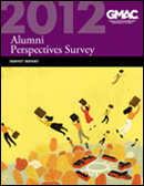 2012 Alumni Perspectives Survey Report Cover