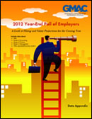 2012 Year-End Employer Poll Appendix Image