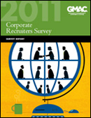 2011 Corporate Recruiters Survey Report Cover