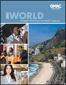 World Geographic Trend Report Cover TY2011
