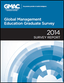 2014 Global Management Education Graduate Survey Report cover