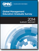2014 Global Management Education Graduate Survey cover