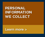Personal information we collect